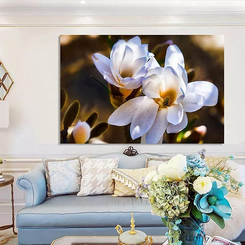 Seattle Mall Modern Flowers Posters and Max 63% OFF Prints Magno Art Painting Canvas Wall