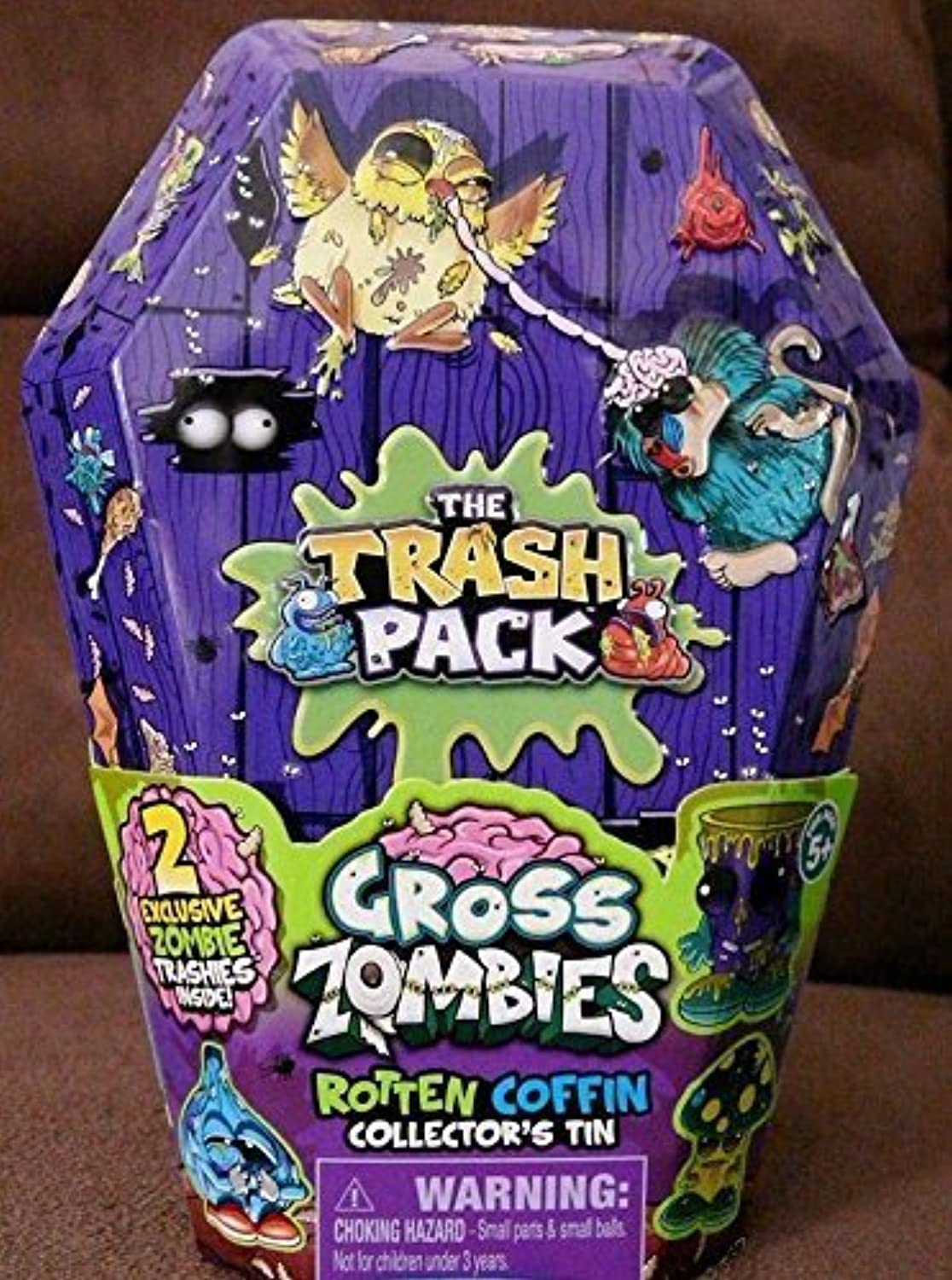 Trash Pack Gross Zombies Rotten Coffin Collector's Tin by Prannoi
