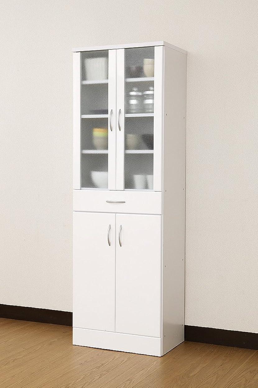 櫛エアコンぐるぐる食器棚 NEW MIRANO kitchen series 食器棚 60G 鏡面仕上げ