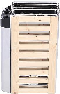 AndrawPoêle De Sauna,Sauna Accessoires Sauna Outil de Chauffage 220V Contrôle Interne de Chauffage de Sauna pour la Maison...