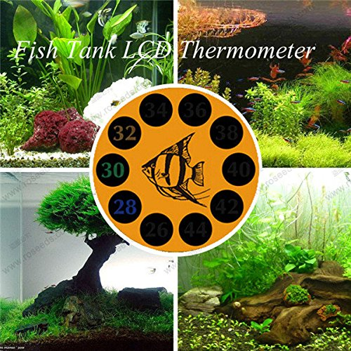 Bazaar BOYU BT-04 LCD Discolor Thermometer Aquarium Digitale Thermometer Voor Vis Tank