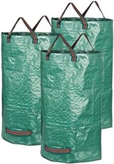 1pieza 25,5Gallon jardinería bolsa malas hierbas hierba recipiente reutilizable Patio de la herramienta herramienta de limpieza de lavandería bolsa de basura jardín hojas