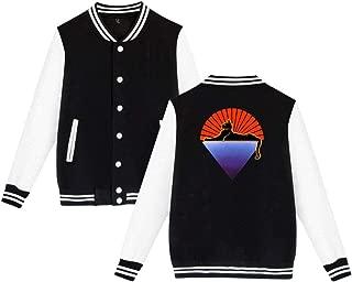 Grateful Dead Cats Under The Stars Mens & Womens Cool Hoodie Baseball Uniform Jacket Sport Coat Black L