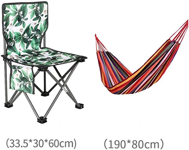 XIAOMEI Pliable Portable Chaise de Camping,Pêche chaises avec Dossier Poche latérale Ultra léger Tissu Oxford Plage Barbecue Charge de 250 lbs-N