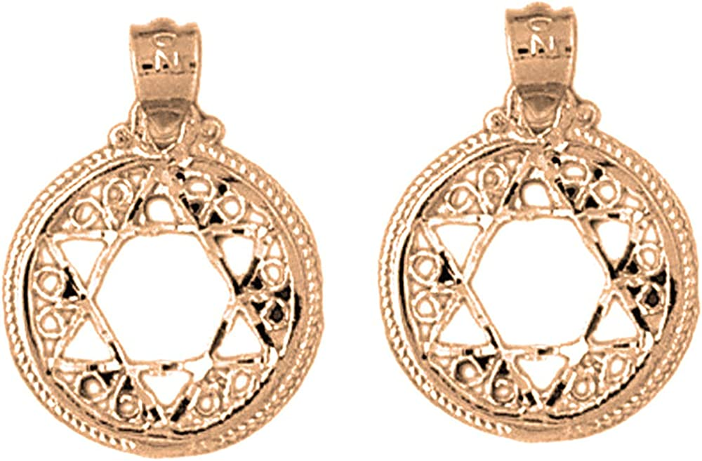 Jewels Obsession Star of New York Ranking TOP16 Mall David Gold Earrings Rose 14K