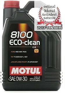 Motul 102889 motorolie 8100 Eco-Clean 0W-30, 5 l