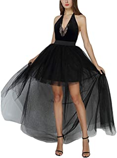 Black High Low Tutu Skirt
