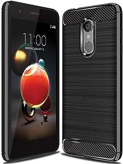LG Aristo 3 Case,LG Aristo 2 Case,LG Tribute Dynasty Case,LG Zone 4 Case,LG K8 2018 Case,LG V3 2018 case Ucc Frosted Shield Luxury Matte Plastic Slim Case Cover for LG Aristo 3 / Aristo 2 X210 (Black)
