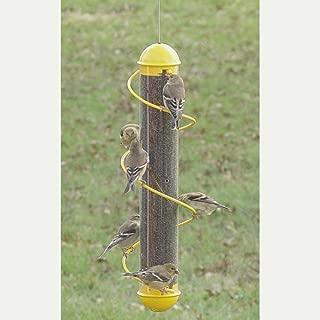 spiral thistle feeder