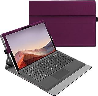 جراب Fintie لجهاز Microsoft Surface Pro 7 / Pro 6 / Pro 5 / Pro 4 / Pro 3 12. 3 Inch - غطاء أعمال متعدد الزوايا ، متوافق م...