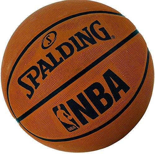Spalding Basketball Outdoor Street mit NBA Logo Größe 7 (7 (mit Ballpumpe))