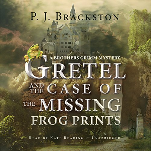 Gretel and the Case of the Missing Frog Prints audiobook cover art