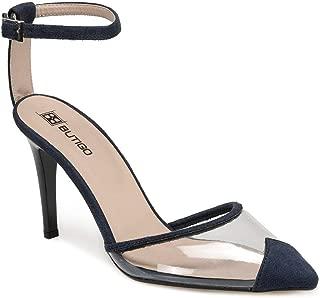 RUBEN Lacivert Kadın Topuklu Ayakkabı