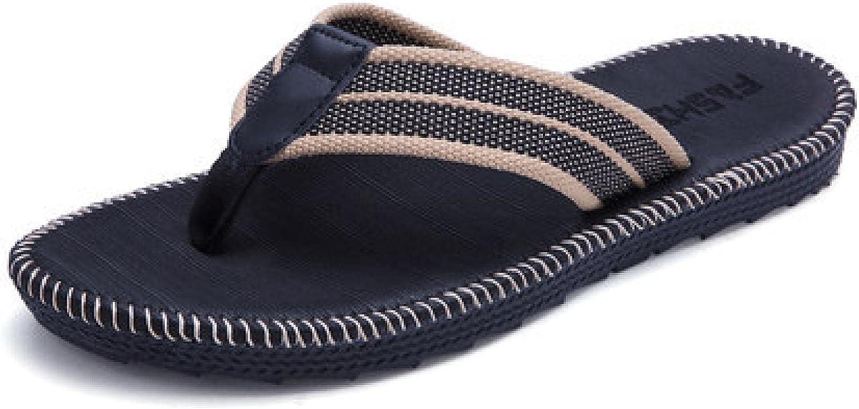 NC Mens Flip Flops Thong Sandals Yoga Foam Slippers 39 R005 Black