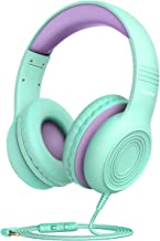 Mpow CH6S Kids Headphones with Microphone Over-Ear/On-Ear, HD Sound Sharing Function..