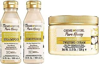 Creme Of Nature Pure Honey Hair Care (SH&COND&CREAM)