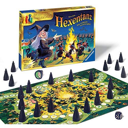 Ravensburger 26425 - Hexentanz, Abwechslungsreiches Familienspiel für Erwachsene und Kinder ab 8 Jahren, Ideal für Spieleabende mit Freunden oder der Familie für 2-6 Spieler