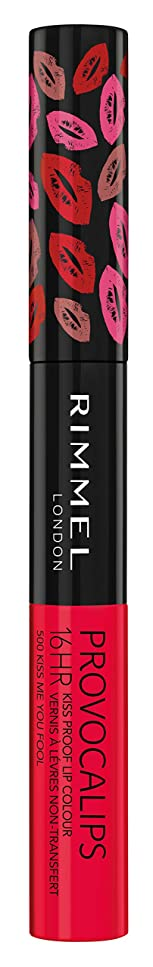 誠意具体的に基本的なRIMMEL LONDON Provocalips 16Hr Kissproof Lip Colour - Kiss Me You Fool (並行輸入品)