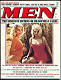 Men 4/1974-Atlas-spicy cover-pulp type stories-Girlie magazine-pin-up-VG/FN