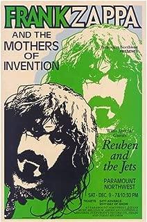 Frank Zappa Concert Poster 3