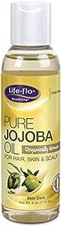 Life-flo Pure Jojoba Oil, Organic   Moisturizer and Nutrient for Dry Hair, Scalp, Skin, Nails & Cuticles   4oz