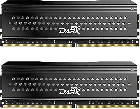 TEAMGROUP T-Force Dark Pro Samsung IC 16GB Kit (2x8GB) DDR4 Dram 3200MHz (PC4-25600) CL14 Desktop Memory Module Ram (Gray)...