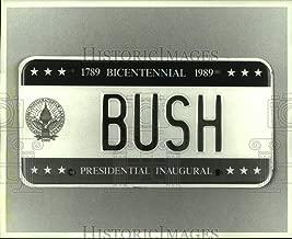 inaugural license plates
