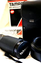 TAMRON 60~300F/3.8-5.4 MACRO (1:1.55) (with Leather Case, Lens Hood, and Adaptall-2 Mount System-Interchangeable with all major 35mm SLRs)