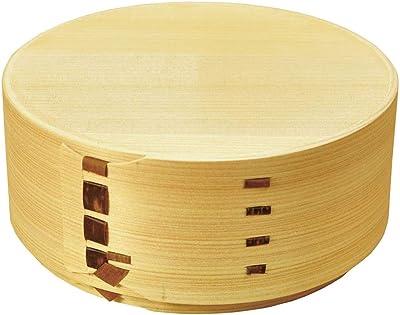 na-mo ひのき曲げわっぱ弁当箱 81618 0 黄色 20×8.5×5.8