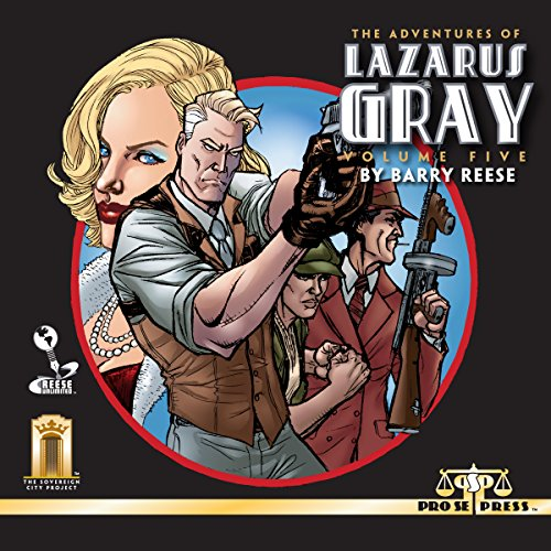 The Adventures of Lazarus Gray: Volume Five audiobook cover art
