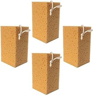 VICASKY 4Pcs Car Wash Esponjas Esponjas De Lavar Purificador de Limpeza Multi Funcional para a de Limpeza Auto Acessórios