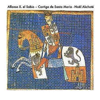 Alfonso X. el Sabio: Cantiga de Santa Maria (Early Music Series, Arr. for Guitar)