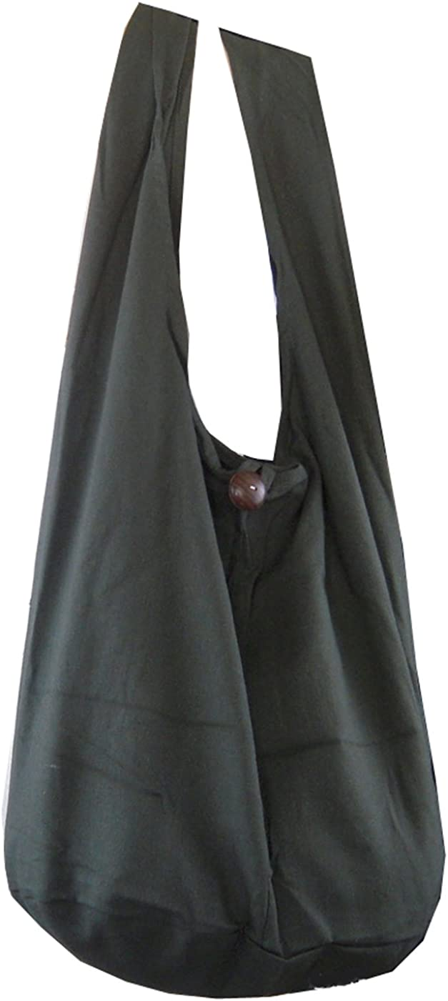 BenThai Products BTP Thai Monk Buddha Popular shop is the lowest price challenge Cotton Sling Crossbod OFFicial site Bag