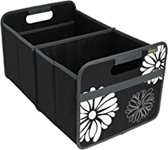 meori Classic Large, Lava Black with Flowers, Collapsible Box to Organize, Store and Carry Anything and Everything