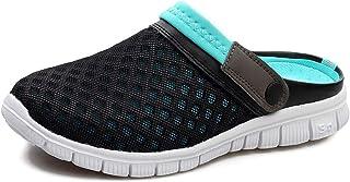 COOPCUP Zapatillas de malla transpirable Jardín Zuecos Sandalias de Playa Al Aire Libre Casual Zapatos de Verano Flip Flops