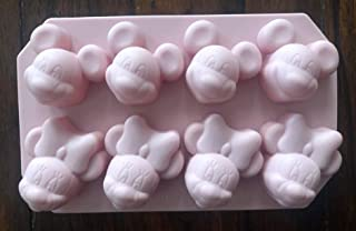NEW DISNEY MICKEY AND MINNIE MOUSE SILICONE PAN CUPCAKE CHOCOLATE CANDY JELLO MOLD