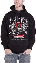 Gas Monkey Garage Hoodie Badass GMG Logo Official Mens Black Epic Pullover