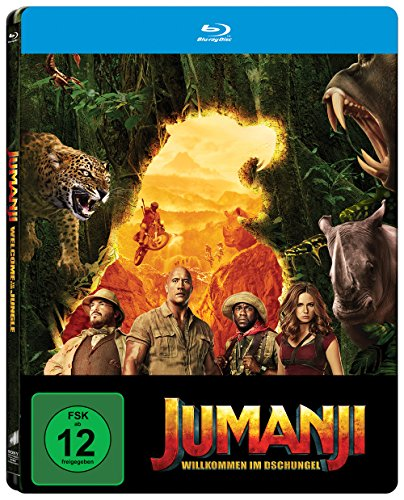 Jumanji: Willkommen im Dschungel [Limited Steelbook Edition] [Blu-ray]