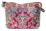 Oriental Carpet Cosmetic Pouch, Clutch, Makeup Bag-Muda Design Collection