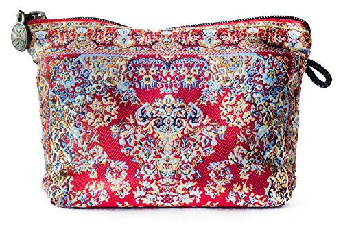 Orient Teppich Kosmetik Tasche, Kupplung, Make-up-bag-muda Design Collection