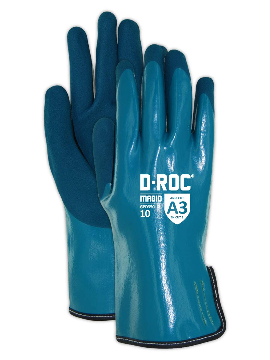 MAGID Chemical Resistant Nitrile Gloves Regular store Pair 12 New product type Size: XXXL