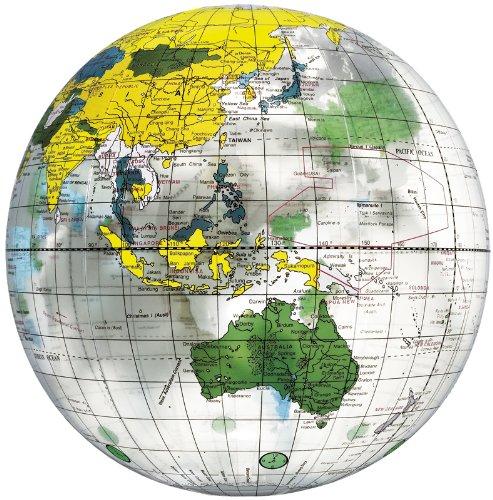 地球儀ボール (クリア)
