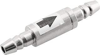 DGZZI Check Valve Stainless Steel One Way Non-Return Check Valve for Aquarium Co2 System Aquarium CO2 Diffuser