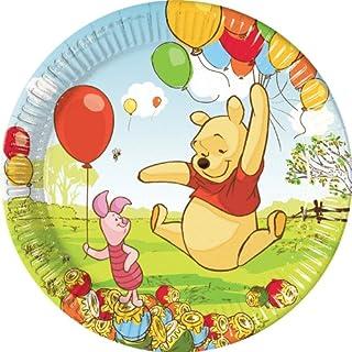 Procos Winnie The Pooh Paper Plate, 23 cm - 5948, Unisex