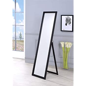 Infinite Reflections Dressing Mirror With Stand (Glass_Silver_15 x 55)