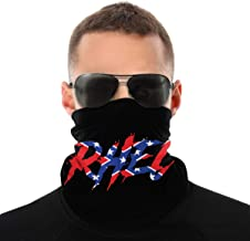 Upchurch Seamless Face Mask Mouth Cover Bandanas for Dust, Outdoors, Festivals, Sports