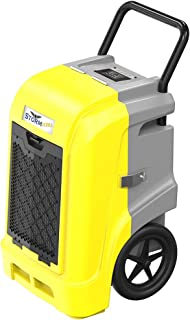 AlorAir Storm Ultra Industrial Dehumidifier 190 PPD, LCD Display, 5 Years Warranty, cETL,LGR Commercial Dehumidifier with Pump, Epoxy Coating on Coil, Designed for Flood Restoration