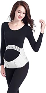 Maternity Belt Breathable Adjustable Elastic and Thin Belly Band/Brace - Provides Hip, Pelvic, Lumbar and Lower Back Compr...