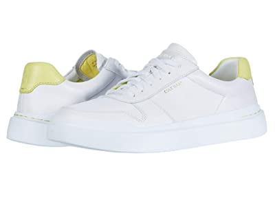Cole Haan Grandpro Rally Court Sneaker (Optic White/Limelight/Optic White) Women