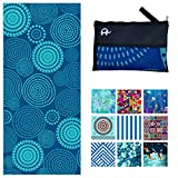 Elite Trend Microfiber Beach Towel for Travel - Oversized XL 78x35,72x72,63x31,71x31Inch Quick Drying, Lightweight, Fast Dry Towels, Sand Free (Z-Zero, Extra Large (78X35-INCH))